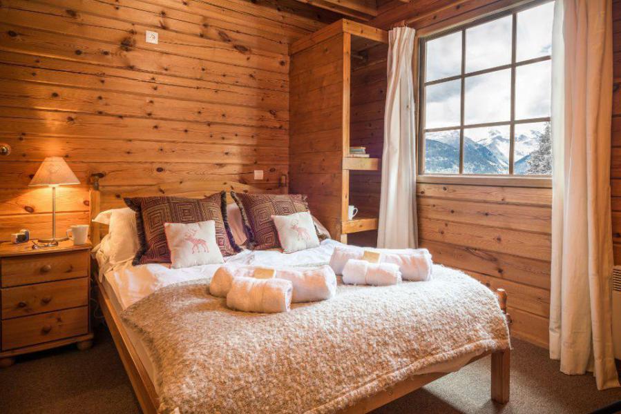 Location au ski Chalet mitoyen 8 pièces 14 personnes - Chalet Noella - La Tania - Chambre
