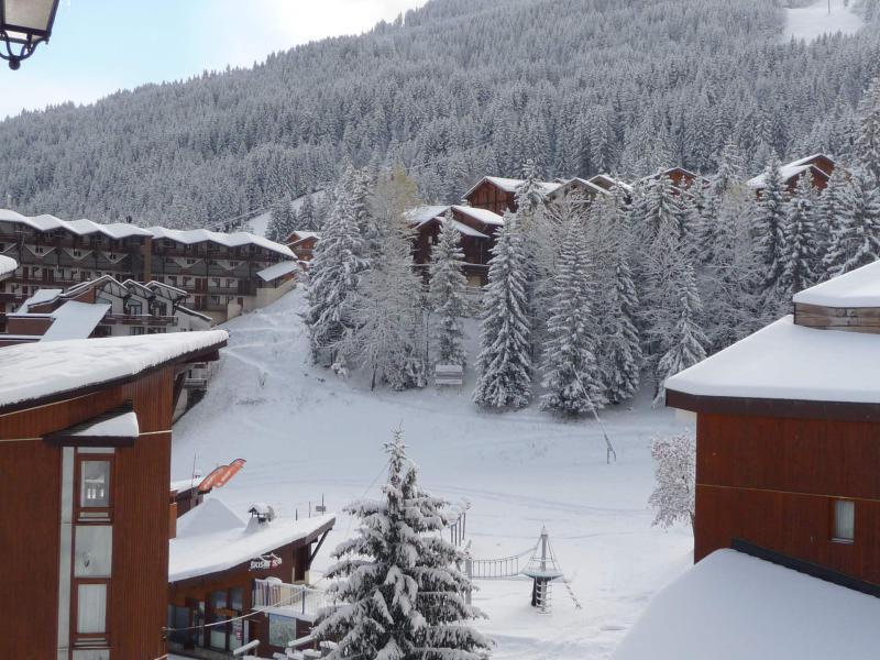 Wakacje w górach Domek górski pośredni 8 pokojowy dla 13 osób - Chalet Simone - La Tania - Zima na zewnątrz
