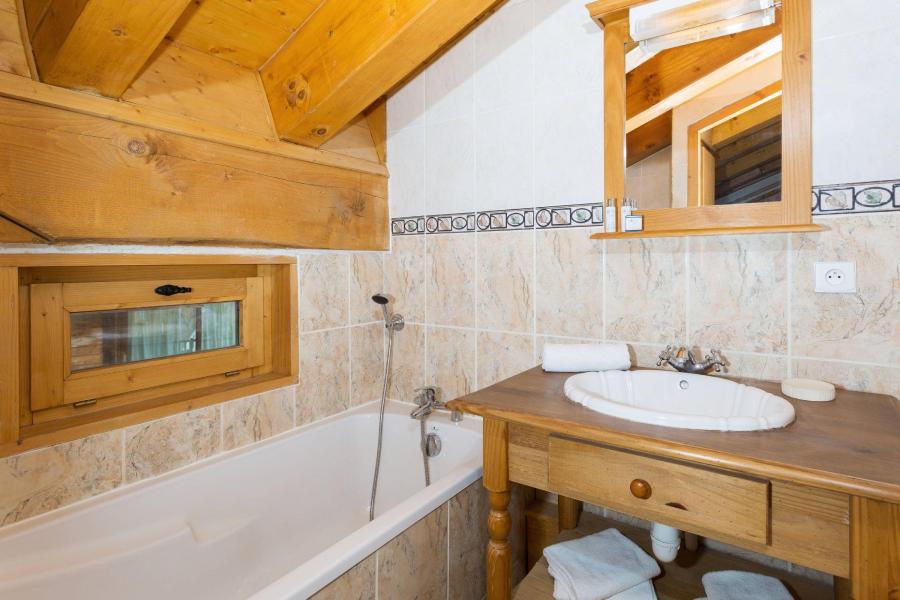 Location au ski Les Chalets de la Tania - La Tania - Salle de bains
