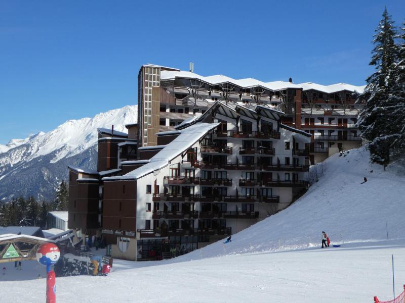 Location au ski Residence Grand Bois - La Tania - Extérieur hiver