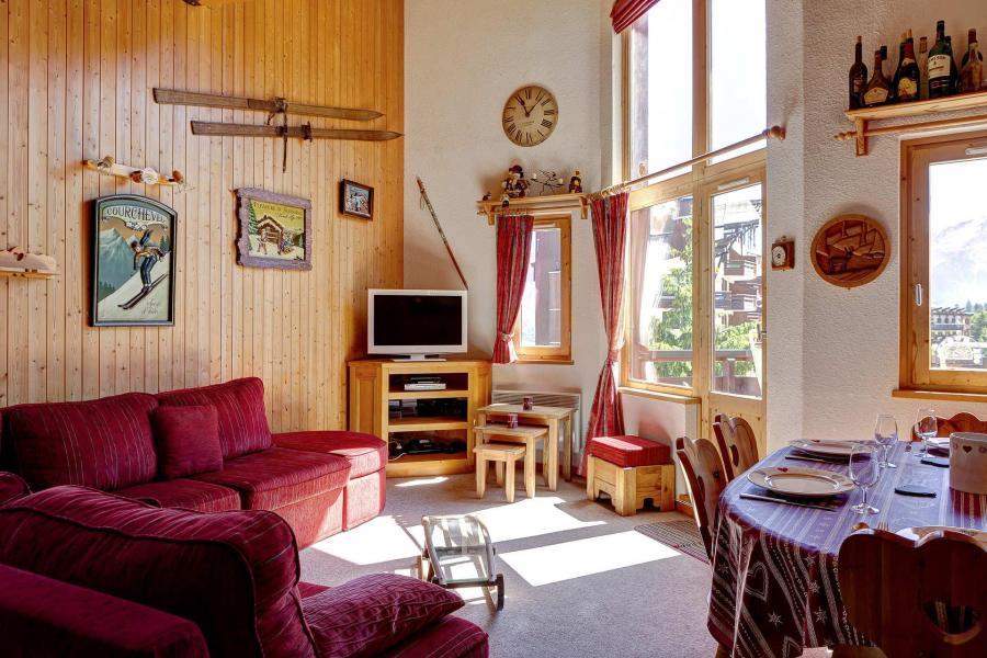 Location au ski Appartement duplex 3 pièces 10 personnes (210) - Résidence Kalinka - La Tania - Séjour