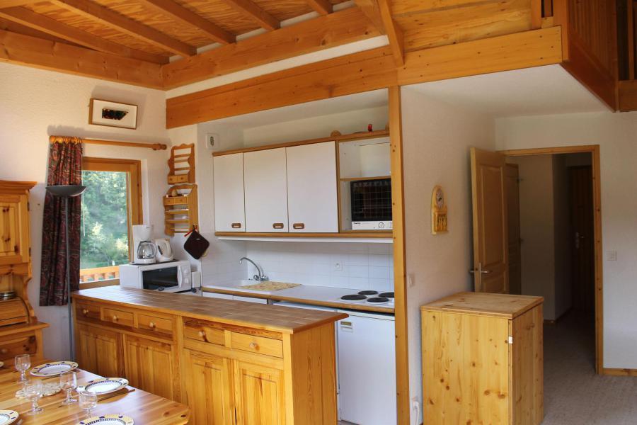Аренда на лыжном курорте Апартаменты дуплекс 4 комнат 7 чел. (401) - Résidence l'Atrey - La Tania - Небольш&