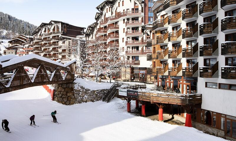 Аренда на лыжном курорте Résidence le Christiana - Maeva Home - La Tania - зимой под открытым небом