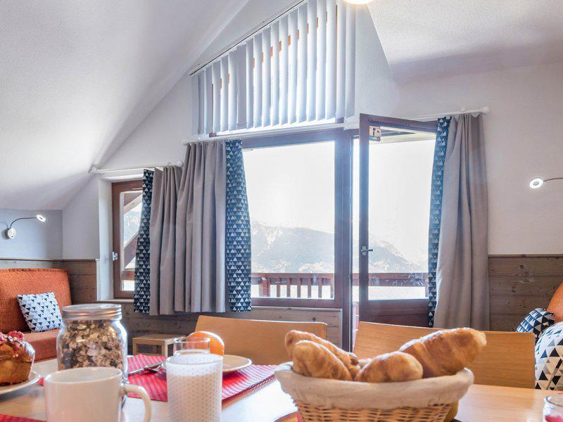 Rent in ski resort 2 room apartment 7 people (standard) - Résidence Pierre et Vacances le Britania - La Tania