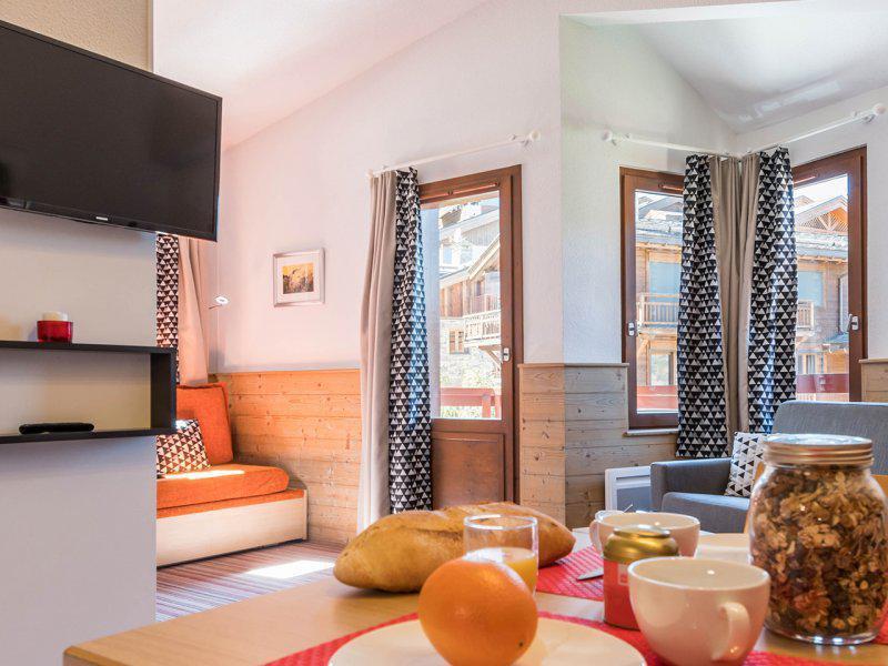 Аренда на лыжном курорте Квартира студия для 4 чел. - Résidence Pierre et Vacances le Britania - La Tania