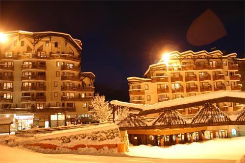 Location au ski Résidence Pierre & Vacances le Christiania - La Tania - Extérieur hiver