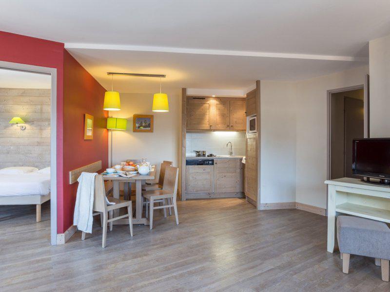 Skiverleih 3-Zimmer-Holzhütte für 7 Personen - Résidence Pierre & Vacances le Christiania - La Tania