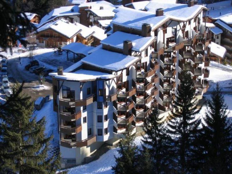 Аренда на лыжном курорте Résidence Saboia - La Tania - зимой под открытым небом