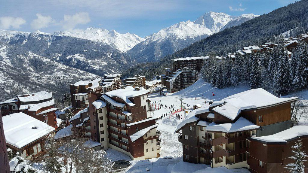 Аренда на лыжном курорте Апартаменты 2 комнат 4 чел. (34) - Résidence Saboia - La Tania - зимой под открытым небом