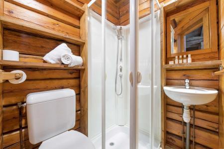 Rent in ski resort Chalet Elliot Est - La Tania - Shower