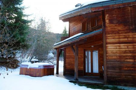 Rent in ski resort Chalet Lea - La Tania - Winter outside
