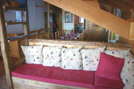 Location au ski Chalet 6 pièces 10 personnes (DFB) - Les Chalets De La Tania - La Tania - Séjour