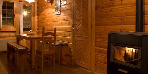 Location au ski Les Chalets De La Tania - La Tania - Séjour