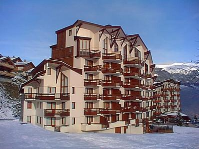 Location au ski Appartement duplex 3 pièces 10 personnes (210) - Residence Kalinka - La Tania - Extérieur hiver