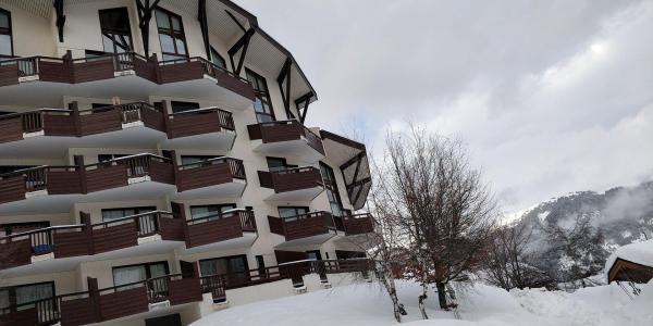 Location au ski Résidence l'Atrey - La Tania - Extérieur hiver