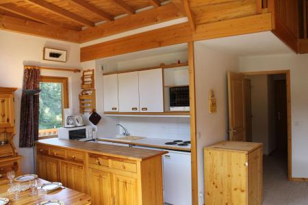 Location au ski Appartement duplex 4 pièces 7 personnes (401) - Résidence l'Atrey - La Tania - Kitchenette
