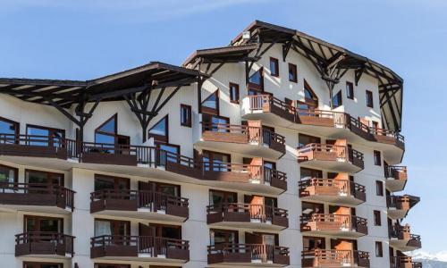 Location au ski Résidence le Christiana - Maeva Home - La Tania - Extérieur hiver