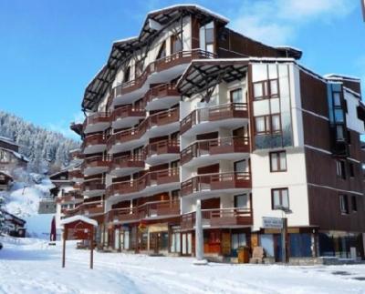 Location au ski Residence Les Folyeres - La Tania - Extérieur hiver