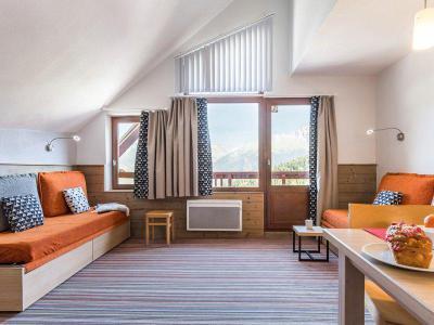 Аренда на лыжном курорте Апартаменты 2 комнат 7 чел. (стандарт) - Résidence Pierre et Vacances le Britania - La Tania