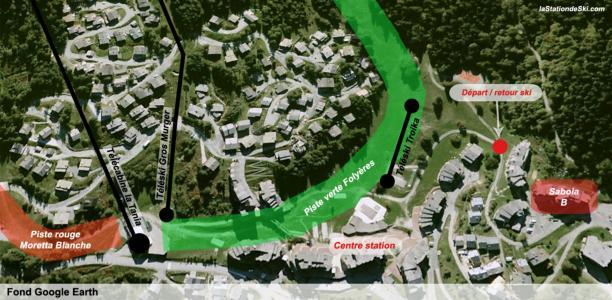 Location au ski Appartement 2 pièces 4 personnes (34) - Residence Saboia - La Tania