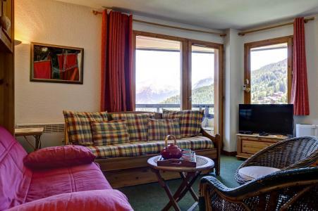 Location au ski Appartement 2 pièces 4 personnes (42) - Residence Saboia - La Tania - Séjour