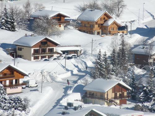 Ski en décembre Chalet Jardin D'hiver