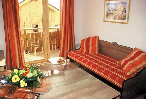 Location au ski Appartement 2 pièces 4 personnes - Les Chalets Goelia - La Toussuire - Séjour