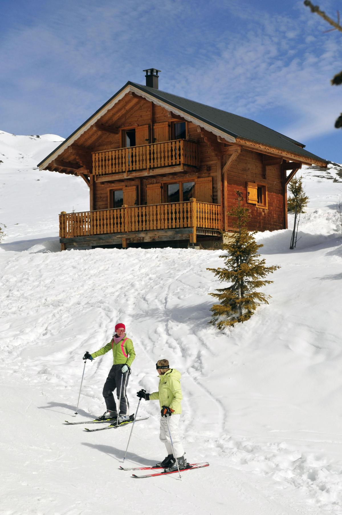 Ski en décembre Les Chalets Goelia
