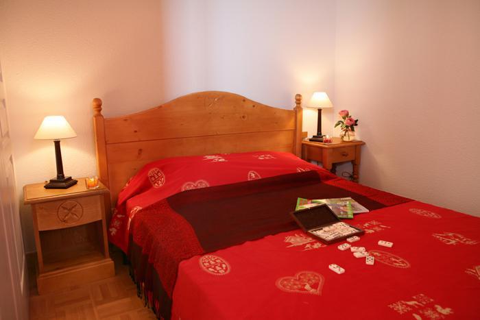 Location au ski Appartement 3 pièces cabine 8 personnes - Residence Les Chalets Des Cimes - La Toussuire - Chambre