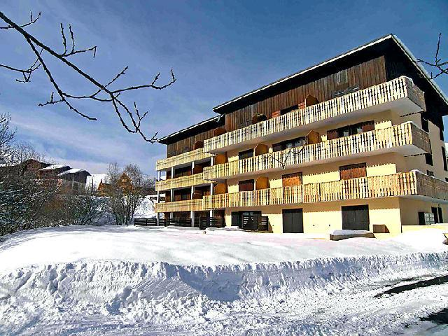 Holiday in mountain resort 2 room apartment 4 people (2) - 1.2.3 Soleil - La Toussuire - Winter outside