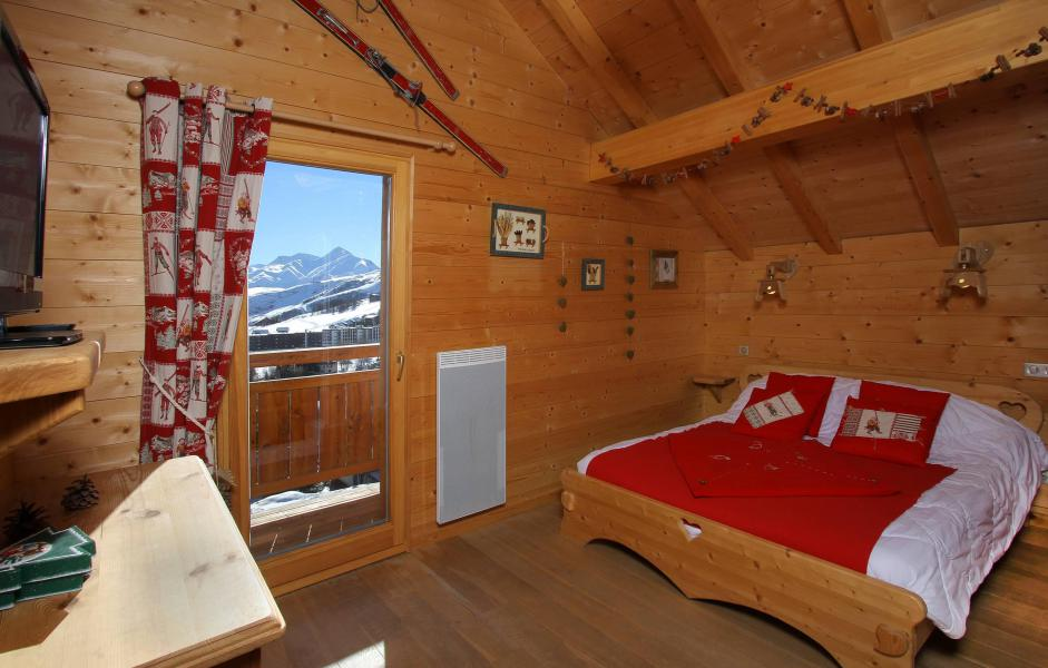 Rent in ski resort Chalet Jardin d'Hiver - La Toussuire - Bedroom