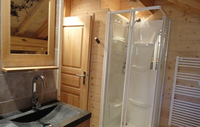 Rent in ski resort Chalet le Reflet des Aiguilles - La Toussuire - Shower room