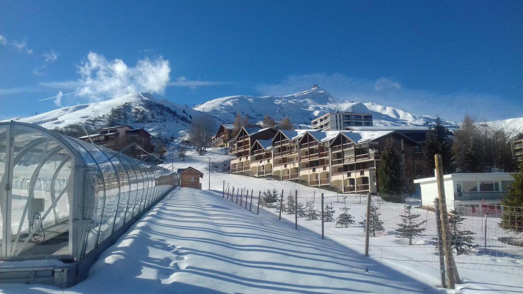 Location au ski La Résidence les Bergers - La Toussuire - Extérieur hiver