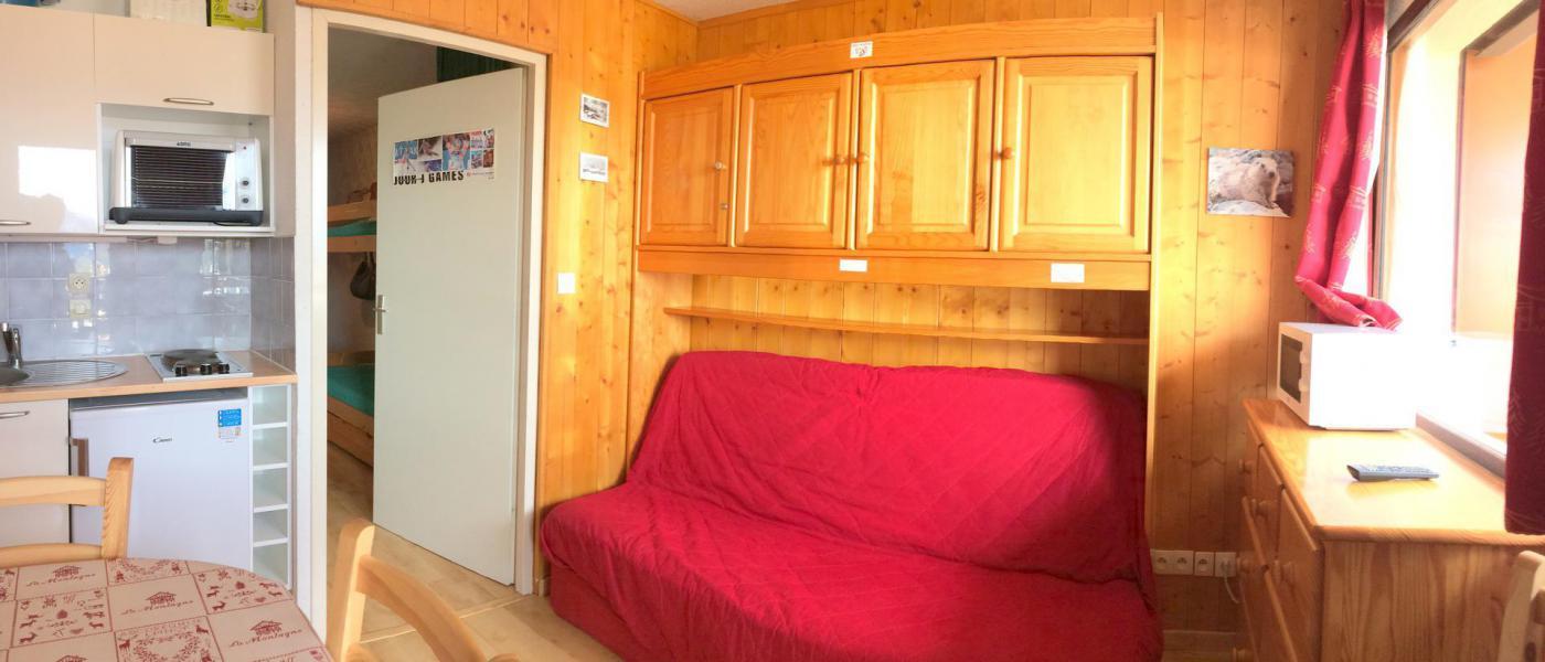 Location au ski Appartement 2 pièces coin montagne 4 personnes (B22) - La Résidence les Bergers - La Toussuire - Séjour