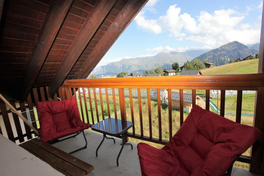 Location au ski Appartement 3 pièces 4 personnes (B46) - La Résidence les Bergers - La Toussuire - Balcon