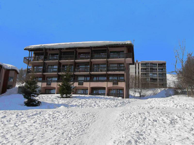 Holiday in mountain resort 2 room apartment 4 people (1) - Les Bergers - La Toussuire - Winter outside