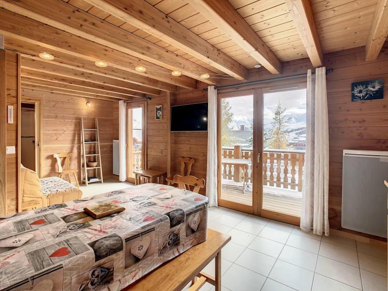 Location au ski Chalet duplex 4 pièces 9 personnes (MASCARET) - Résidence Goélia les Chalets de la Toussuire - La Toussuire - Séjour