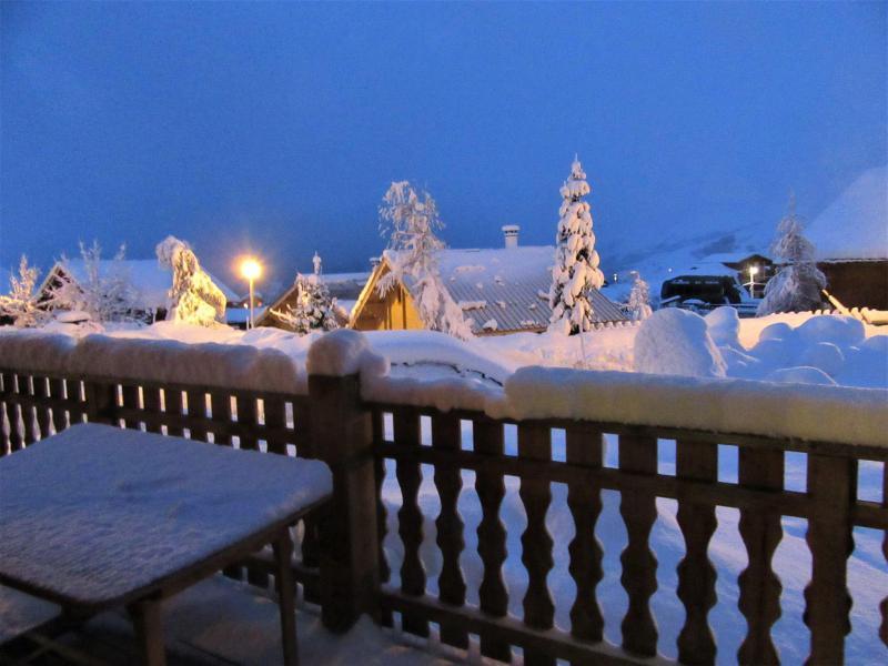 Location au ski Chalet duplex 4 pièces 9 personnes (MASCARET) - Résidence Goélia les Chalets de la Toussuire - La Toussuire - Terrasse