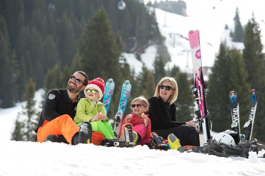 Alquiler al esquí Résidence L'Alpaga - La Toussuire - Interior