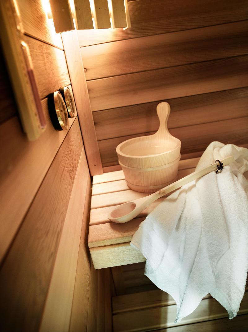 Alquiler al esquí Résidence L'Alpaga - La Toussuire - Sauna