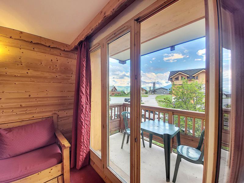 Аренда на лыжном курорте Апартаменты 2 комнат 4 чел. (A104) - Résidence l'Ecrin des Sybelles - La Toussuire - Балкон