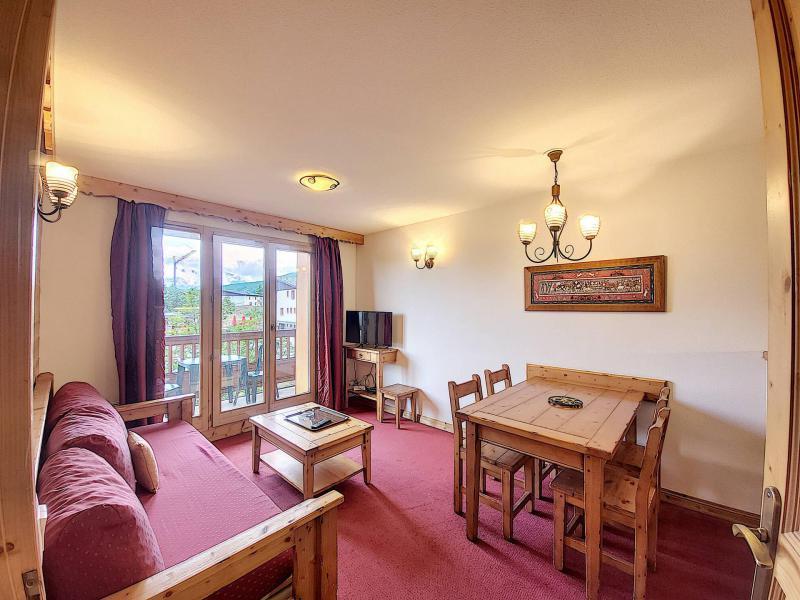 Аренда на лыжном курорте Апартаменты 2 комнат 4 чел. (A104) - Résidence l'Ecrin des Sybelles - La Toussuire - Салон