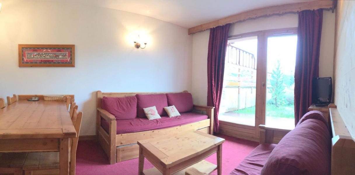 Аренда на лыжном курорте Апартаменты 3 комнат 6 чел. (C0008) - Résidence l'Ecrin des Sybelles - La Toussuire - Салон