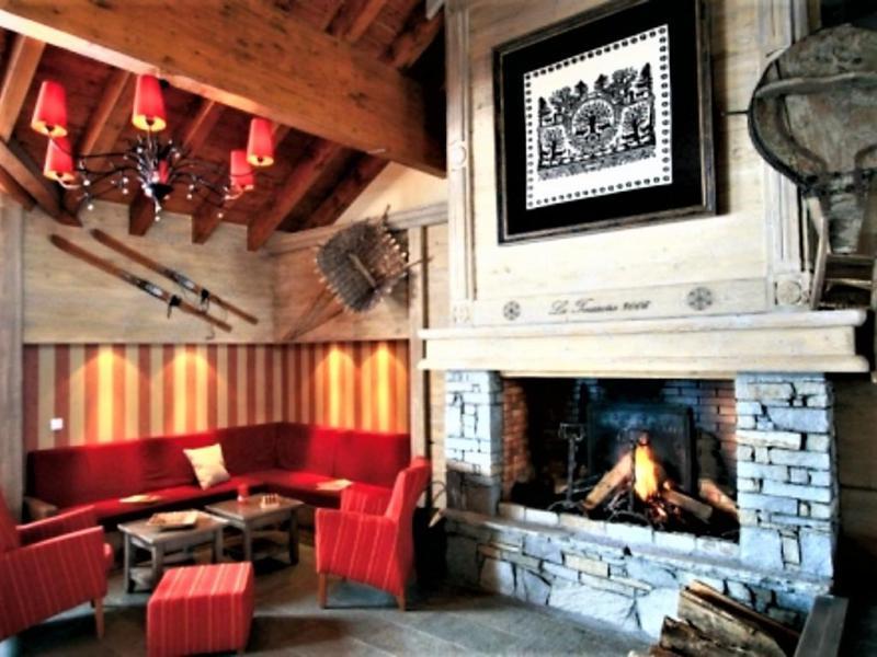 Аренда на лыжном курорте Résidence l'Ecrin des Sybelles - La Toussuire - ресепшн