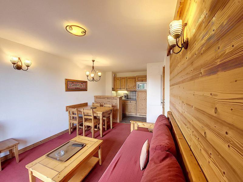 Аренда на лыжном курорте Апартаменты 2 комнат 4 чел. (A104) - Résidence l'Ecrin des Sybelles - La Toussuire