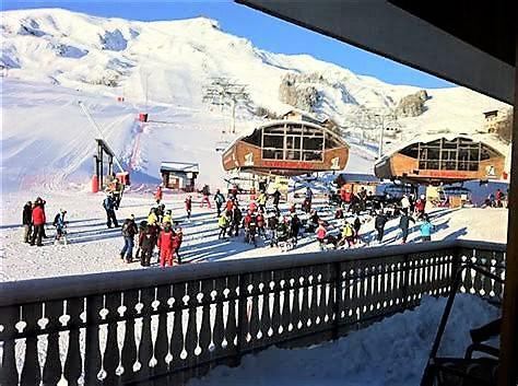 Location au ski Résidence l'Orée des Pistes - La Toussuire - Extérieur hiver