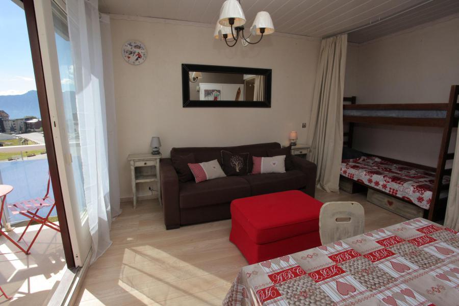 Location au ski Studio coin montagne 4 personnes (136) - Résidence l'Ouillon - La Toussuire - Séjour