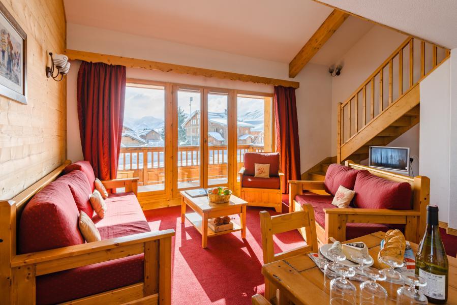 Alquiler al esquí Résidence Lagrange l'Ecrin des Sybelles - La Toussuire - Banqueta