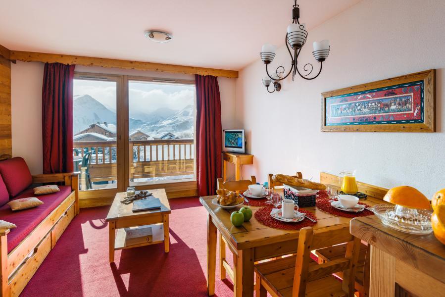 Alquiler al esquí Résidence Lagrange l'Ecrin des Sybelles - La Toussuire - Comedor