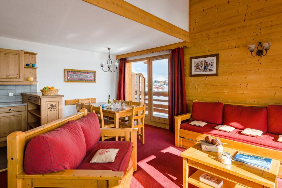 Alquiler al esquí Résidence Lagrange l'Ecrin des Sybelles - La Toussuire - Salón